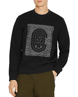 COACH - Signature Retro Logo-Embroidered Sweatshirt