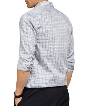 Ted Baker - Tonycar Geo Print Slim Fit Shirt