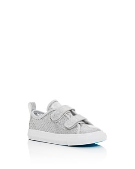 Converse - Unisex Chuck Taylor All Star 2V Glitter Low-Top Sneakers - Walker, Toddler