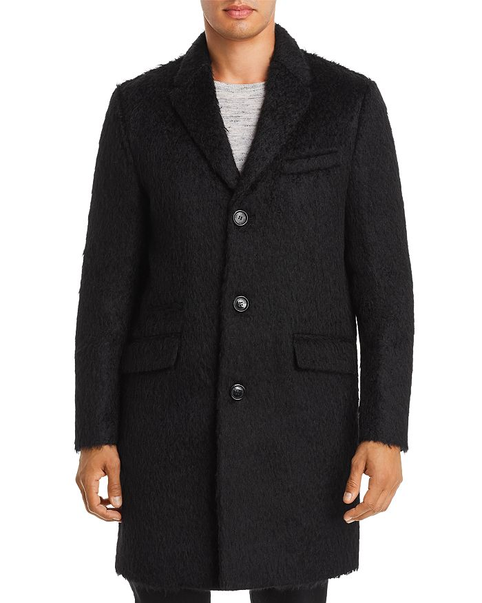 KARL LAGERFELD PARIS - Textured Wool-Blend Coat