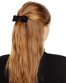 Salvatore Ferragamo - Ferm Bello Signature Bow Hair Clip