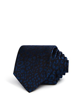 Paul Smith - Cheetah Print Skinny Tie