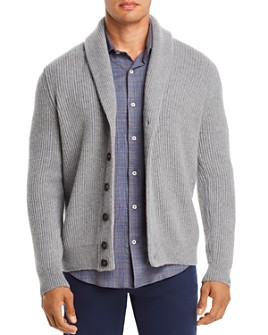 Dylan Gray - Ribbed Shawl-Collar Cardigan - 100% Exclusive