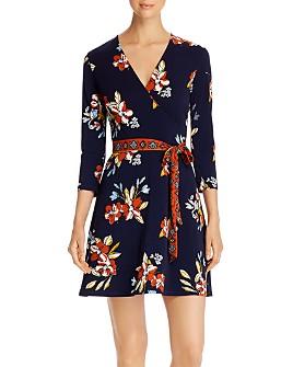 Leota - Perfect Wrap Mini Dress