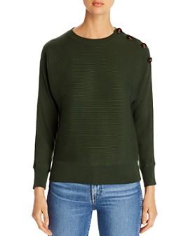 Design History - Button-Shoulder Dolman Sweater