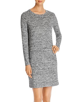 Vero Moda - Poppy Ribbed Mélange-Knit Dress