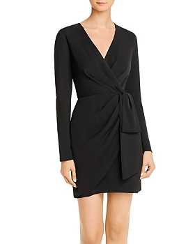 Jay Godfrey - Meyer Faux-Wrap Mini Dress