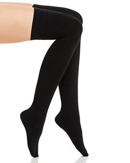 DKNY - Fleece Over-the-Knee Socks