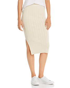 Eleven Six - Ava Alpaca-Blend Knit Skirt