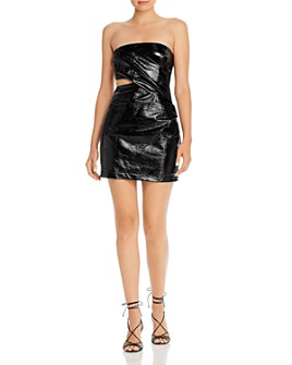 Bec & Bridge - Finn Cutout Strapless Mini Dress