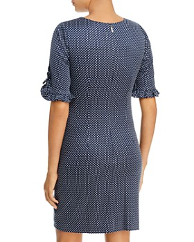 KARL LAGERFELD Paris - Short-Sleeve Jacquard Dress