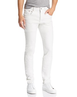 Purple Brand - Skinny Fit Jeans in White Wash