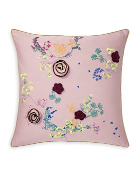 "Yves Delorme - Herba Decorative Pillow, 18"" x 18"""