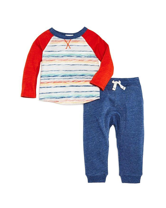 Splendid - Boys' Striped Tee & Jogger Pants Set - Baby