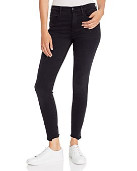 FRAME - Le High Skinny Chewed-Hem Jeans in Whittier Chew - 100% Exclusive