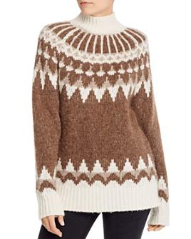 FRAME - Fair Isle Turtleneck Sweater