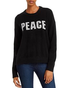 Minnie Rose - Peace Cashmere Sweater