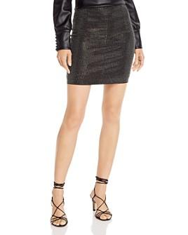 AQUA - Studded Mini Skirt - 100% Exclusive