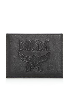 MCM - Coburg Injection Embossed Leather Card Case