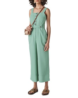 Whistles - Tia Sleeveless Cropped Jumpsuit