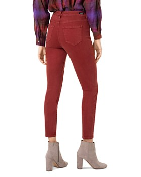 Liverpool - Abby Skinny Jeans in Cherry Wood