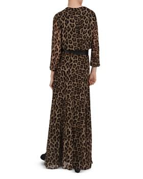 ba&sh - Flake Leopard Print Maxi Dress