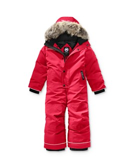 Canada Goose - Unisex Grizzly Fur-Trimmed Snowsuit - Little Kid