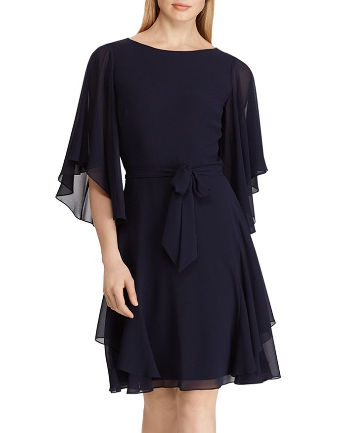 Ralph Lauren - Mandie Ruffled Georgette Dress