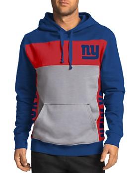 Junk Food - Football Color-Block Hooded Sweatshirt
