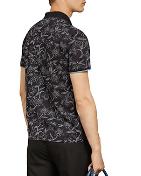 Ted Baker - Viller Floral Regular Fit Polo Shirt