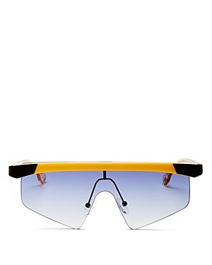 Unisex Engineer Shield Sunglasses
