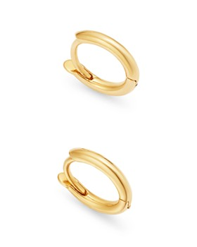 Zoë Chicco - 14K Yellow Gold Extra-Small Huggie Hoop Earrings