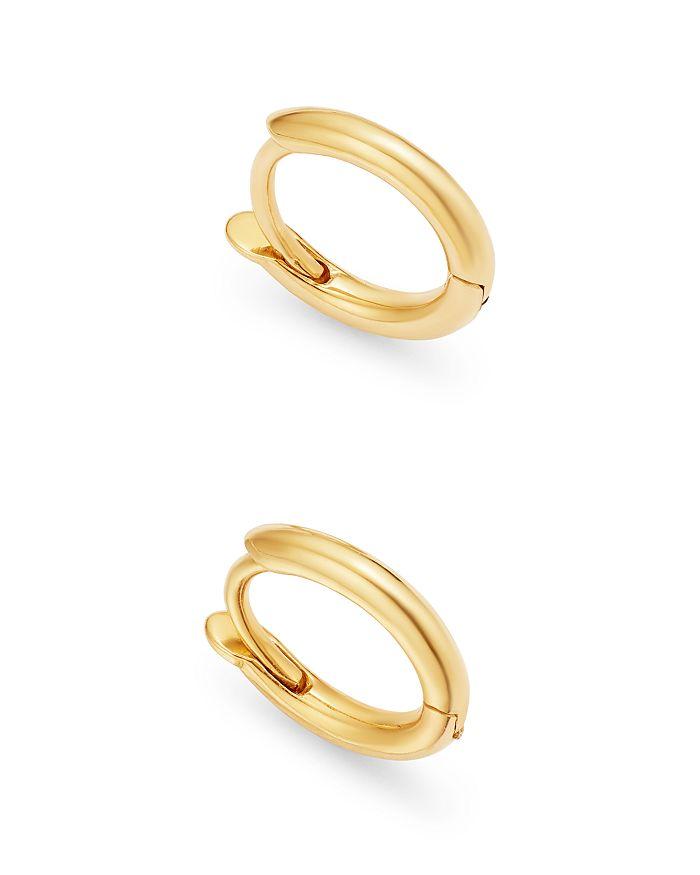 Zoë Chicco - 14K Yellow Gold Extra-Small Huggie Hoop Earrings