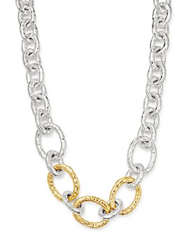 IPPOLITA - Sterling Silver & 18K Yellow Gold Classico Bastille Chain Necklace, 19.5""