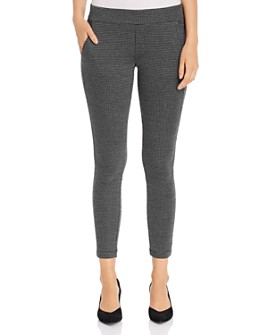 NIC and ZOE - Patterned-Knit Skinny Pants