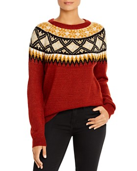 Alison Andrews - Fair Isle Sweater