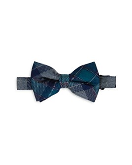 Michael Kors - Boys' Plaid Silk Bow Tie