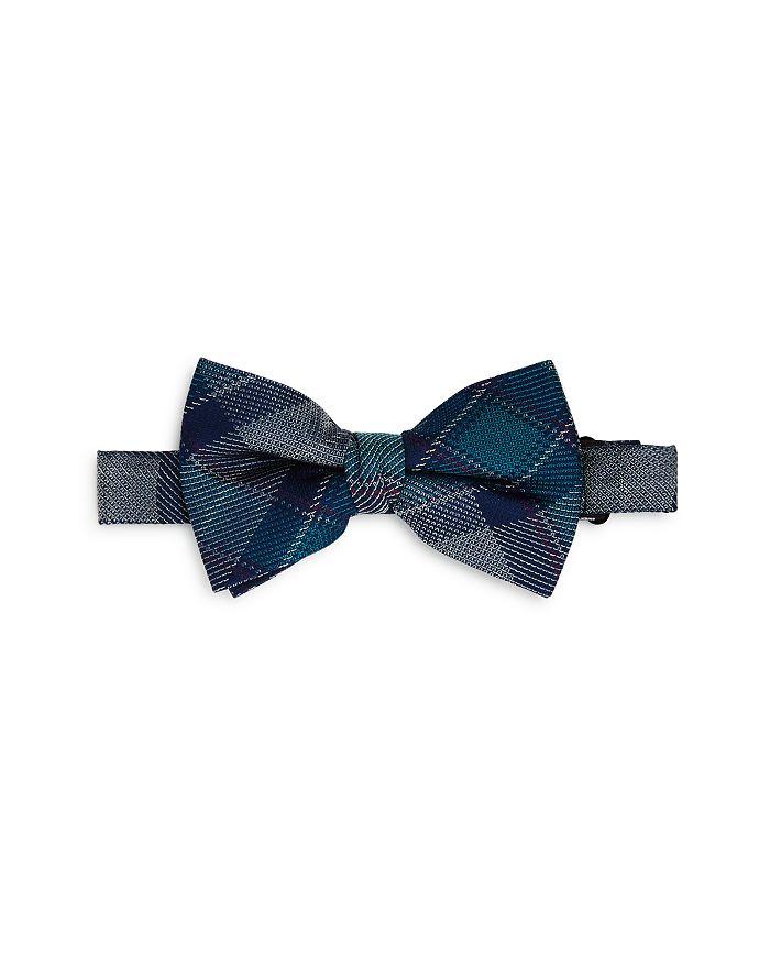 Michael Kors - Boys' Plaid Silk Bow Tie