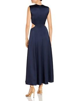 Amur - Inara Sleeveless Satin Cutout Dress
