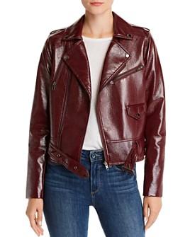 Parker - Cooper Faux-Leather Moto Jacket