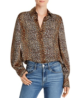 Equipment - Didina Cheetah-Print Button-Down Shirt