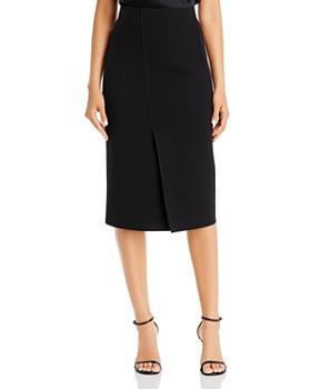 Armani - Vented & Seamed Pencil Skirt