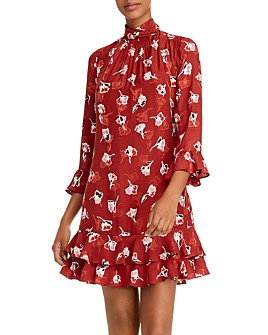 Rebecca Taylor - Floral-Print Shift Dress