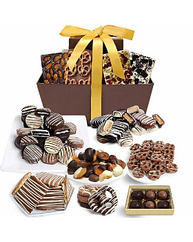 Chocolate Covered Company - Mega Delectable Belgian Chocolate Gift Basket