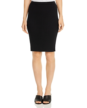 Eileen Fisher Skirts RIBBED WOOL PENCIL SKIRT
