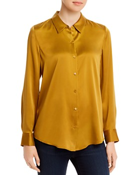 Eileen Fisher - Classic Collar Silk Shirt