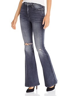 Hudson - Holly High Rise Flared Jeans in Missed Call