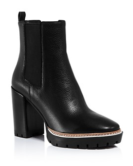 Tory Burch - Women's Miller Block Heel Booties