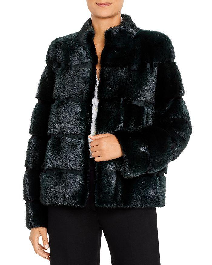 Maximilian Furs - Mink Fur Short Coat - 100% Exclusive