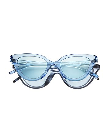 PROJEKT PRODUKT - Women's Cat Eye Sunglasses, 49mm
